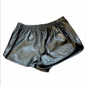 ⚡️HOST PICK⚡️100% Genuine Leather Shorts